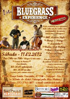Workshop BLUEGRASS EXPERIENCE com a banda MOTORGRASS